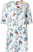 Antonio Marras floral print coat