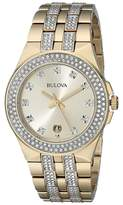 Bulova Mens Crystal - 98B174 Watches