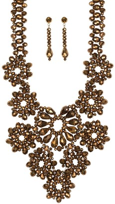 Linea by Louis Dell'Olio Blossom Necklace & Earring Set