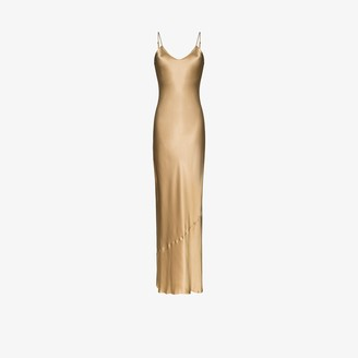 Nili Lotan Silk Slip Dress