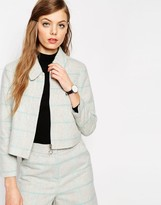 Asos Jacket in Check Co-ord