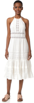 Rebecca Taylor Sleeveless Gauze Midi Dress