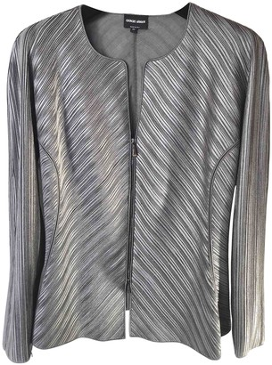 Giorgio Armani Grey Jacket for Women
