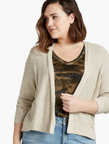 Lucky Brand Open Stitch Cardigan