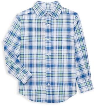 Appaman Little Boy's & Boy's Plaid Standard Shirt