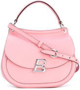 Bally large Ballyum shoulder bag - women - Cotton/Leather - One Size