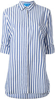 MiH Jeans oversized striped shirt - women - Cotton - XS