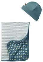Tea Collection Origami Hat & Blanket Set (Baby Boys)