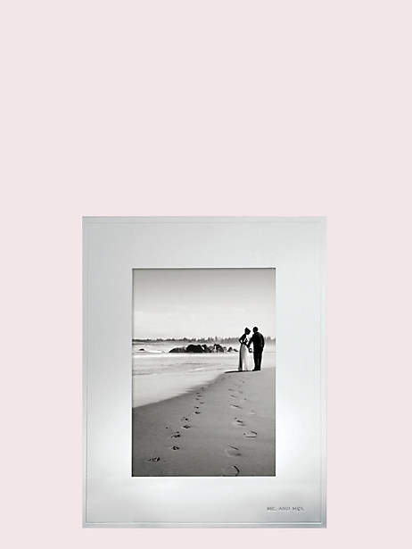 Kate Spade Darling Point 5x7 Frame, Silver