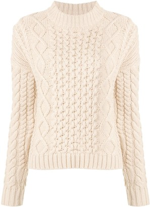 Sir. Ava cable knit jumper