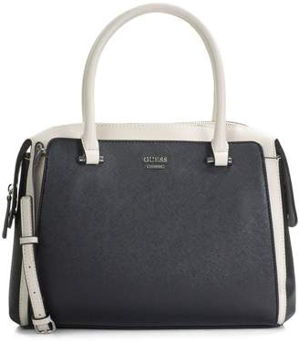 GUESS Steward Faux Leather Satchel