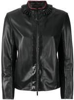 Giorgio Armani snakeskin detail jacket