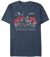 Star Wars Men's Rogue One Hero Logo Graphic T-Shirt