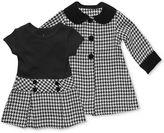 Sweet Heart Rose Baby Set, Baby Girls 2-Piece Dress and Coat