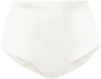 La Perla Silk Flair Stretch-silk Satin High-rise Briefs