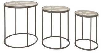 Union Rustic Orianna Contemporary 3 Piece Nesting Tables