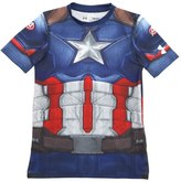 Under Armour Heatgear Captain America Fitted T-Shirt