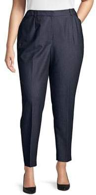 Arthur S. Levine Plus Slim-Fit Pants