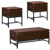 Wildon Home Southport 3 PieceCoffee Table Set