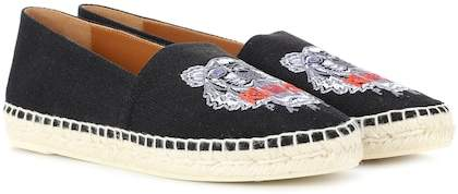 Kenzo Embroidered espadrilles