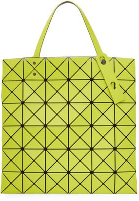 Bao Bao Issey Miyake Yellow Matte Lucent Tote Bag