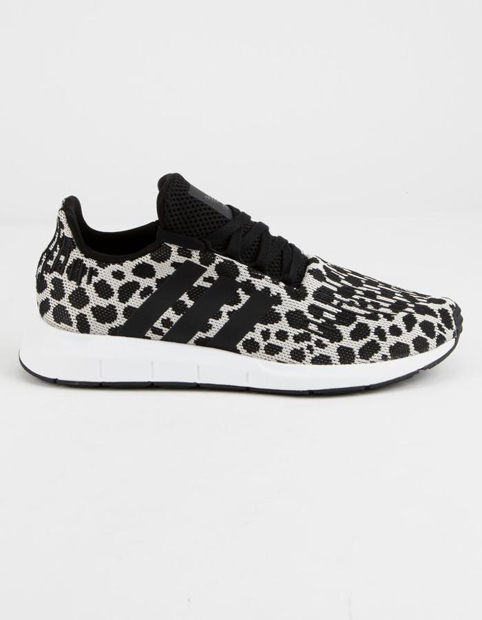 adidas Swift Run Black \u0026 White Womens
