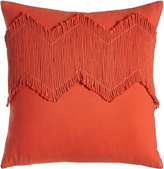 "Blissliving Home Orange Puebla Pillow, 18""Sq."