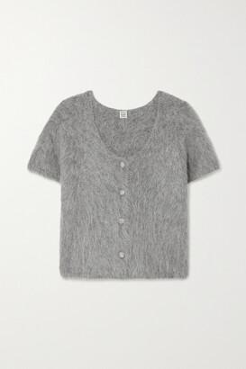 Totême Alpaca-blend Cardigan - Gray