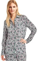 Gap Piping long sleeve sleep shirt