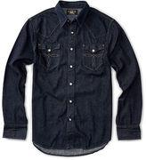 Ralph Lauren RRL Slim-Fit Denim Western Shirt
