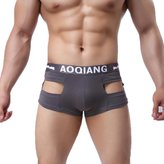 Tonsee Sexy Men Underwear Cotton Boxers Brief (S, )
