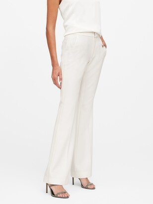 Banana Republic High-Rise Flare Tuxedo Pant