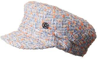 Maison Michel New Abby tweed cap
