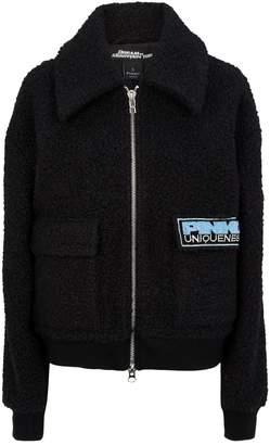 Pinko Embroidered Teddy Jacket