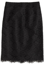 Collection pencil skirt in scalloped lace