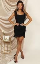 Showpo Make It Out dress in black lace - 8 (S) Dresses