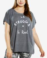 Soffe Plus Size Active T-Shirt
