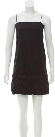 Stella McCartney Pleat-Trimmed A-Line Dress