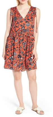 Nordstrom Signature Floral Sleeveless Dress