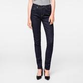 Paul Smith Women's Indigo Denim High-Waisted Skinny Jeans