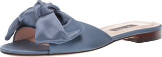 Sarah Jessica Parker Women's Finn Bow Flat Slide Sandal