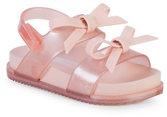 Mini Melissa Baby Girl's, Little Girl's Girl's Cosmic Bow Sandals