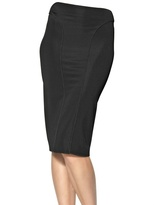 Giorgio Armani Viscose Jersey Skirt