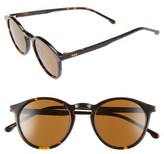 Komono Women's Aston 48Mm Round Sunglasses - Tortoise