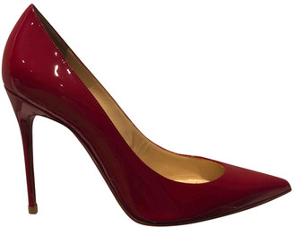 Christian Louboutin So Kate Red Patent leather Heels