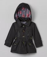 Urban Republic Black Convertible Jacket - Girls