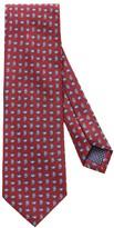 Eton Red Paisley Print Tie