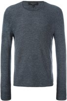 Rag & Bone collar contrast pullover