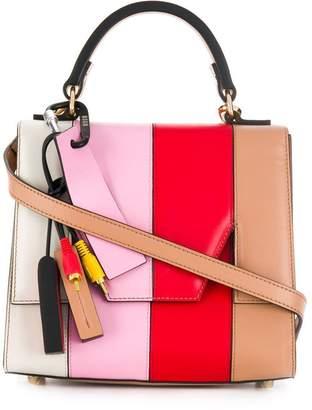 MSGM colour block handbag