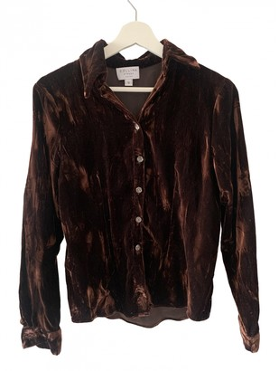 Collina Strada Brown Polyester Tops